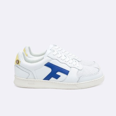 WHITE & BEIGE SNEAKERS RECYCLED LEATHER