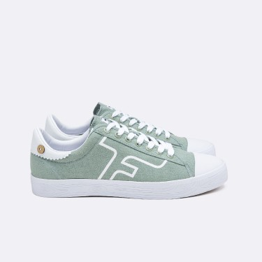 LIGHT GREEN TENNIS SHOES RECYCLED COTTON