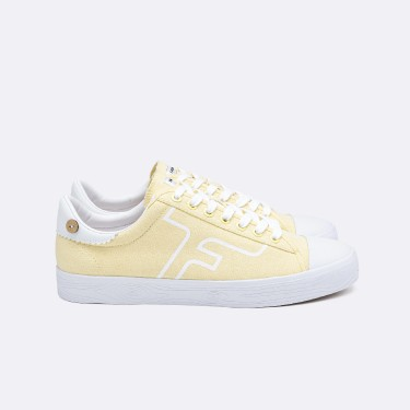 YELLOW TENNIS SHOES RECYCLED COTTON