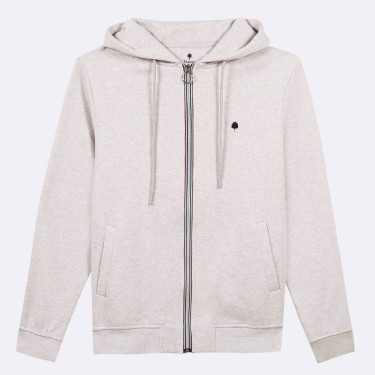 SAND HOODIE IN COTTON