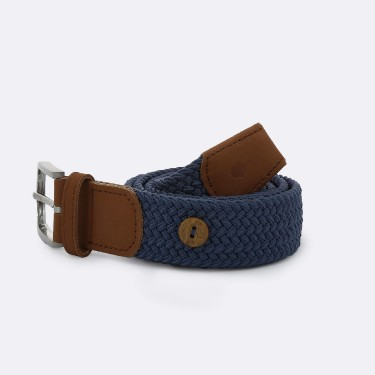 DARK BLUE BELT IN RECYCLED POLYESTER