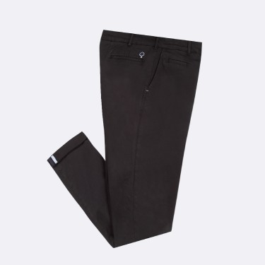 NAVY CHINO IN RECYCLED COTTON